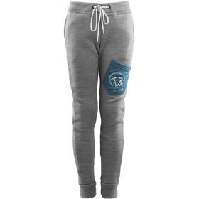 Aclima FleeceWool Pantaloni Bambino, grey mélange/ tapestry